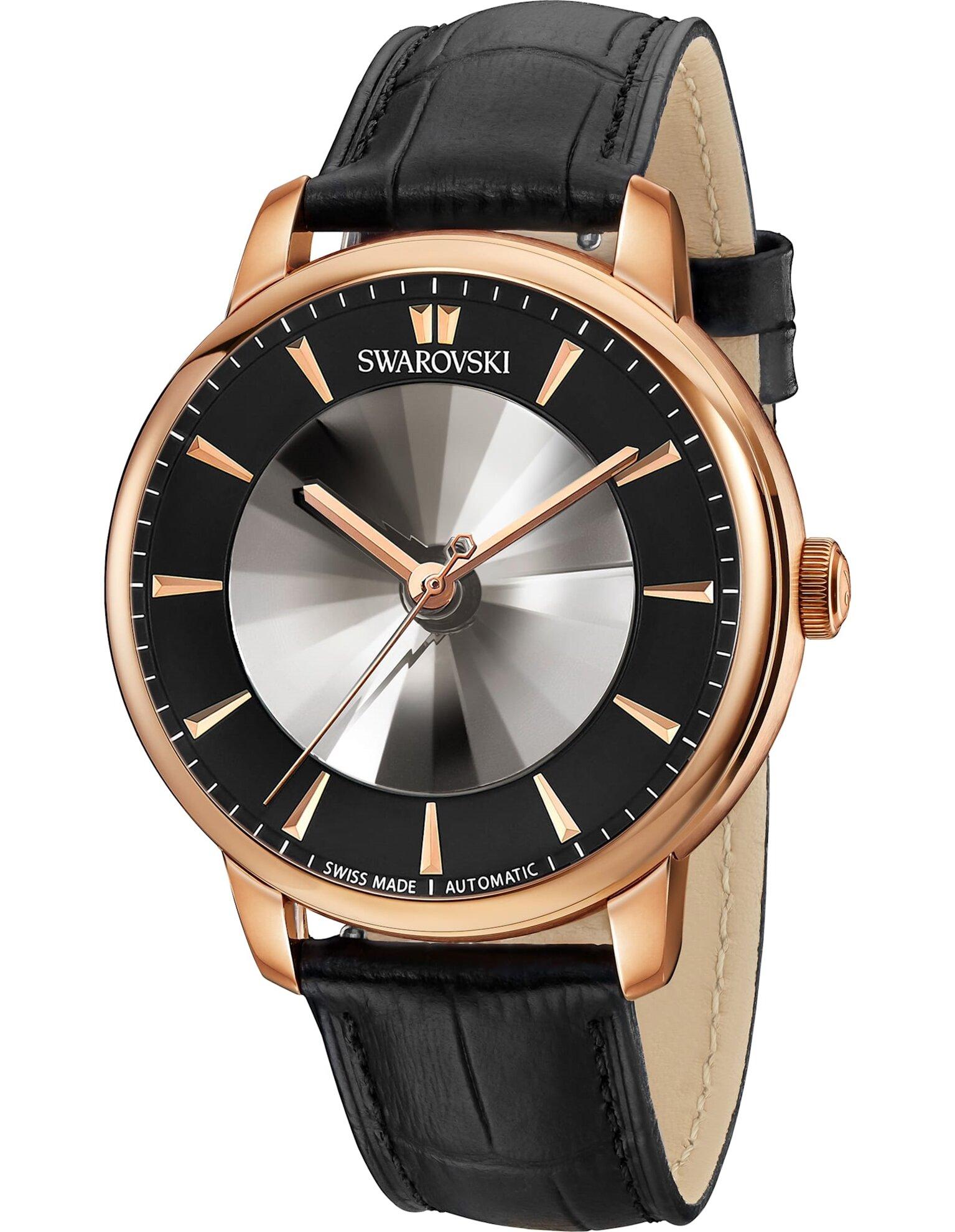 Picture of Atlantis Limited Edition Automatic Men's Saat, Siyah, Pembe altın rengi PVD