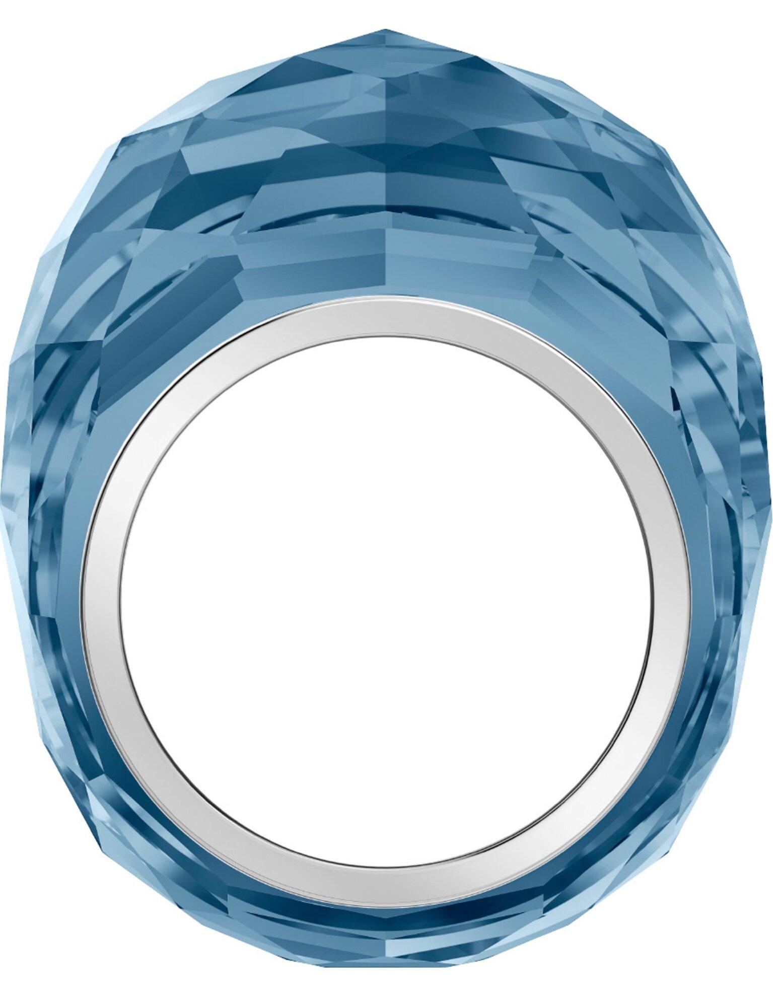 Picture of Swarovski Nirvana Yüzük, Mavi, Paslanmaz çelik