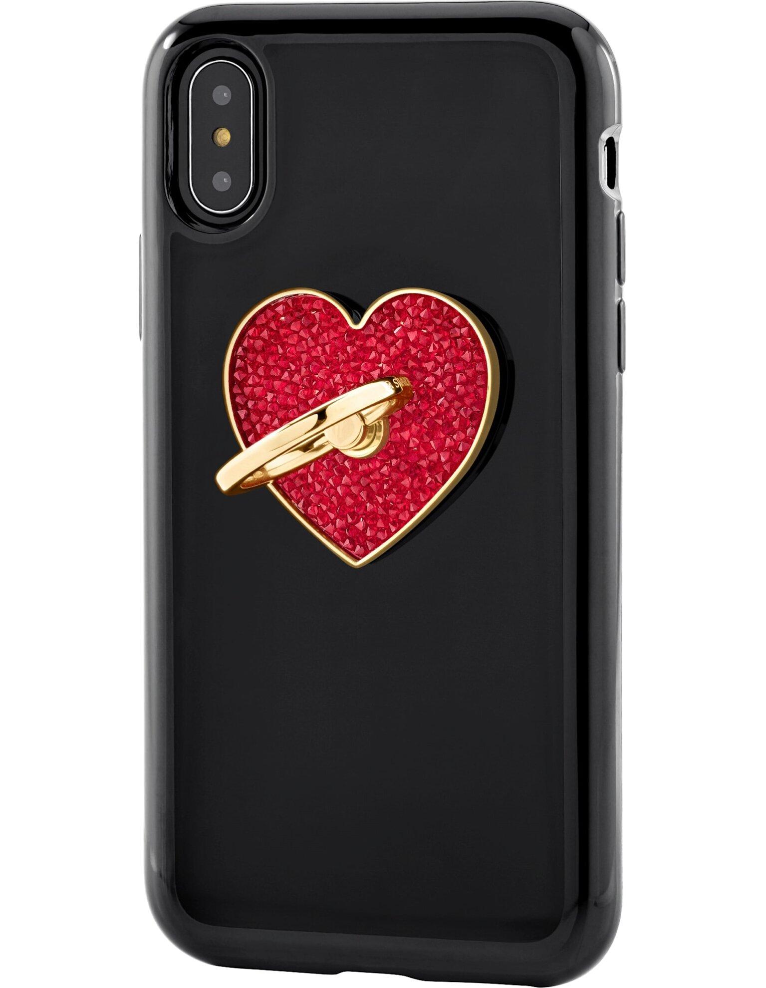 Picture of Glam Rock Telefon Halkası, Kırmızı, Karışık kaplama
