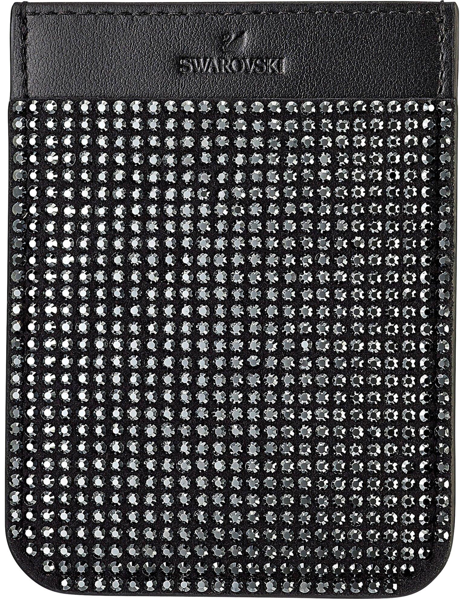 Picture of Swarovski Akıllı telefon yapışkan cebi, Siyah