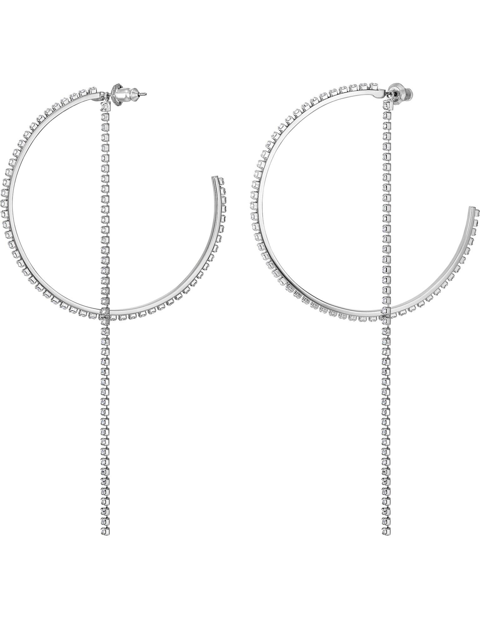 Picture of Fit Halka Küpeler, Beyaz, Paslanmaz çelik