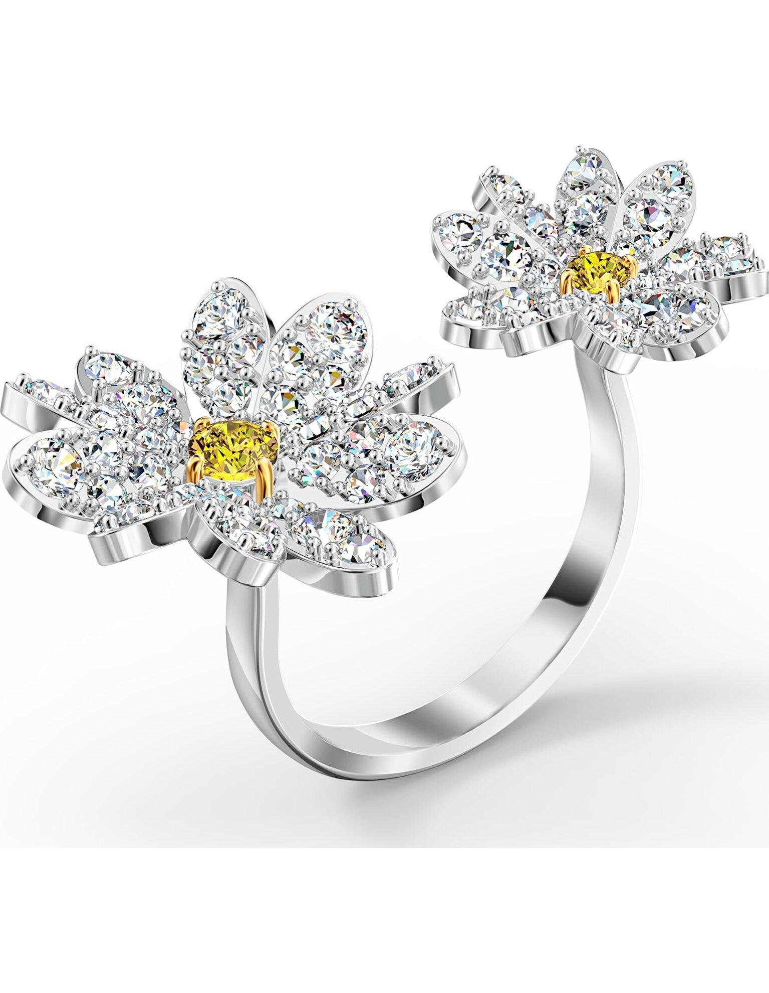 Picture of Eternal Flower Açık Yüzük, Sarı, Karışık metal