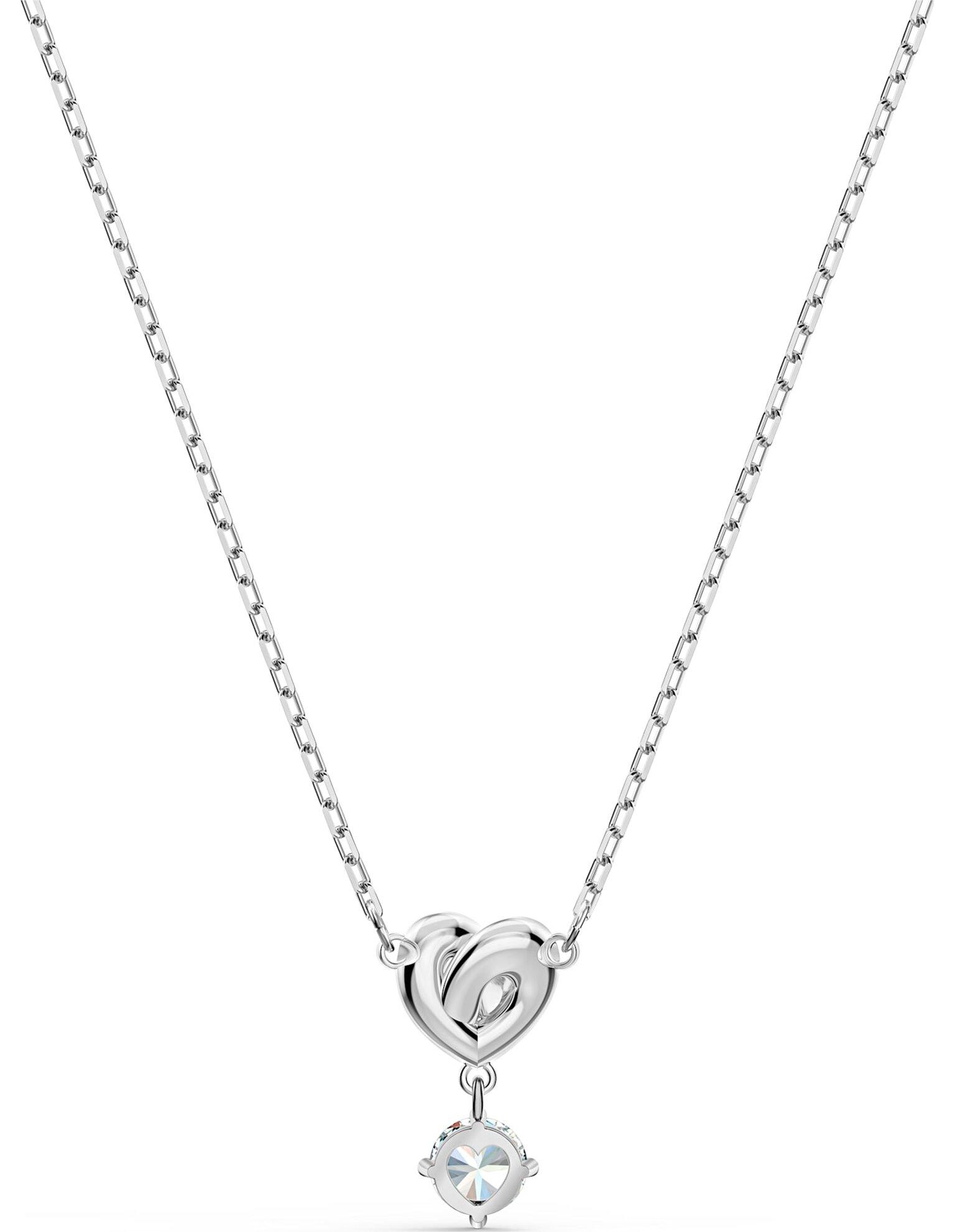 Picture of Lifelong Heart kolye, Beyaz, Rodyum kaplama