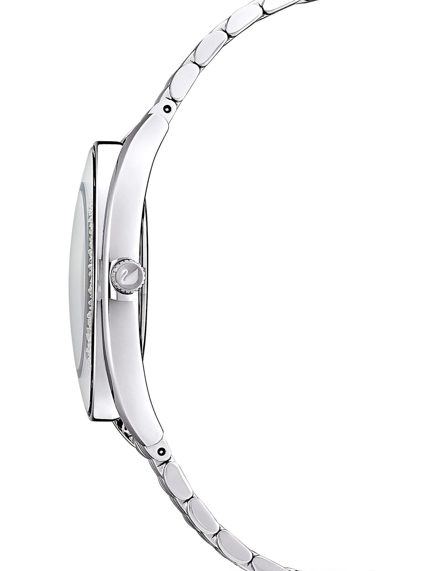 Picture of Crystalline Aura Saat, Metal bileklik, Gümüş Rengi, Paslanmaz çelik