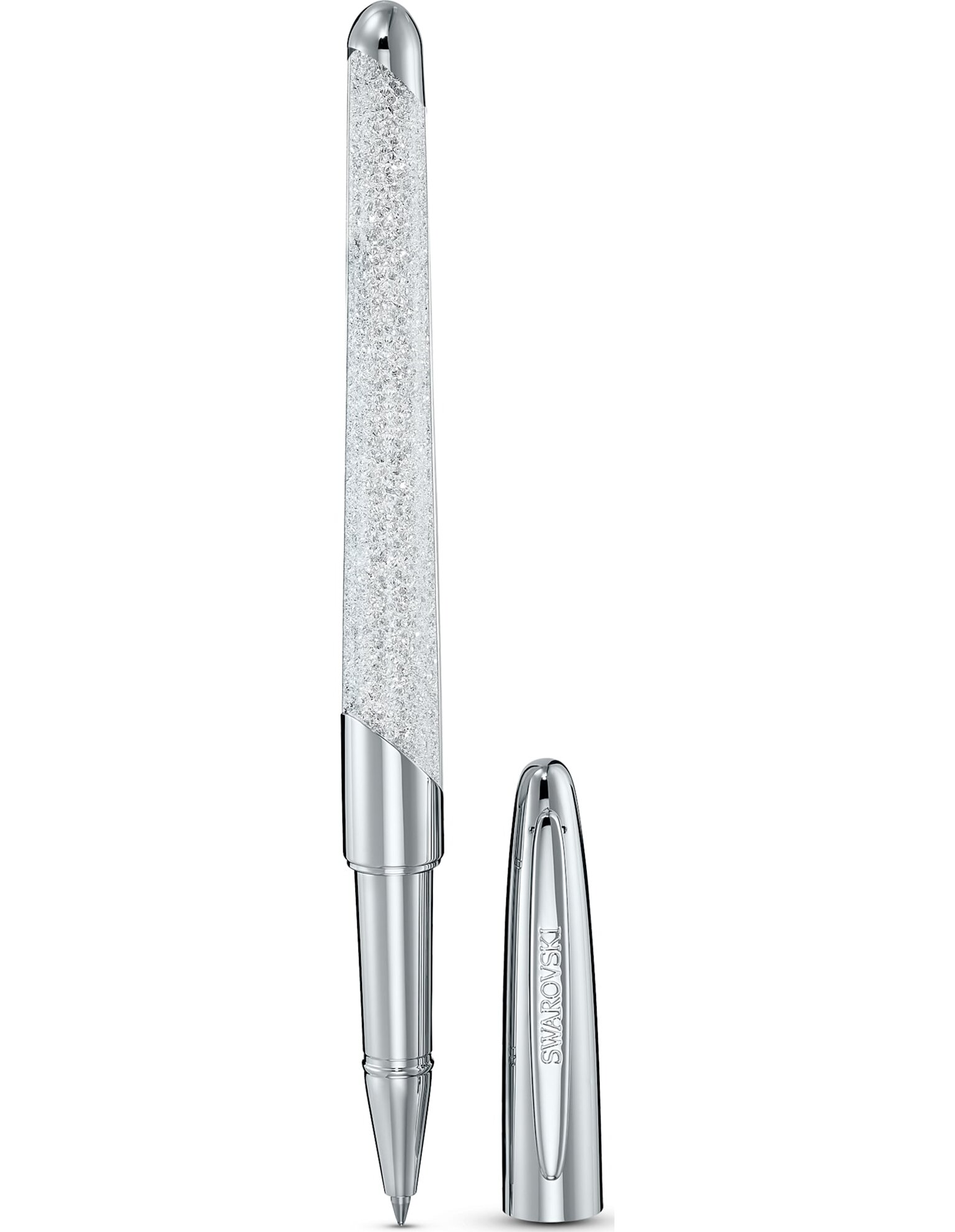 Picture of Crystalline Nova Top Uçlu Kalem, Beyaz, Krom Kaplama