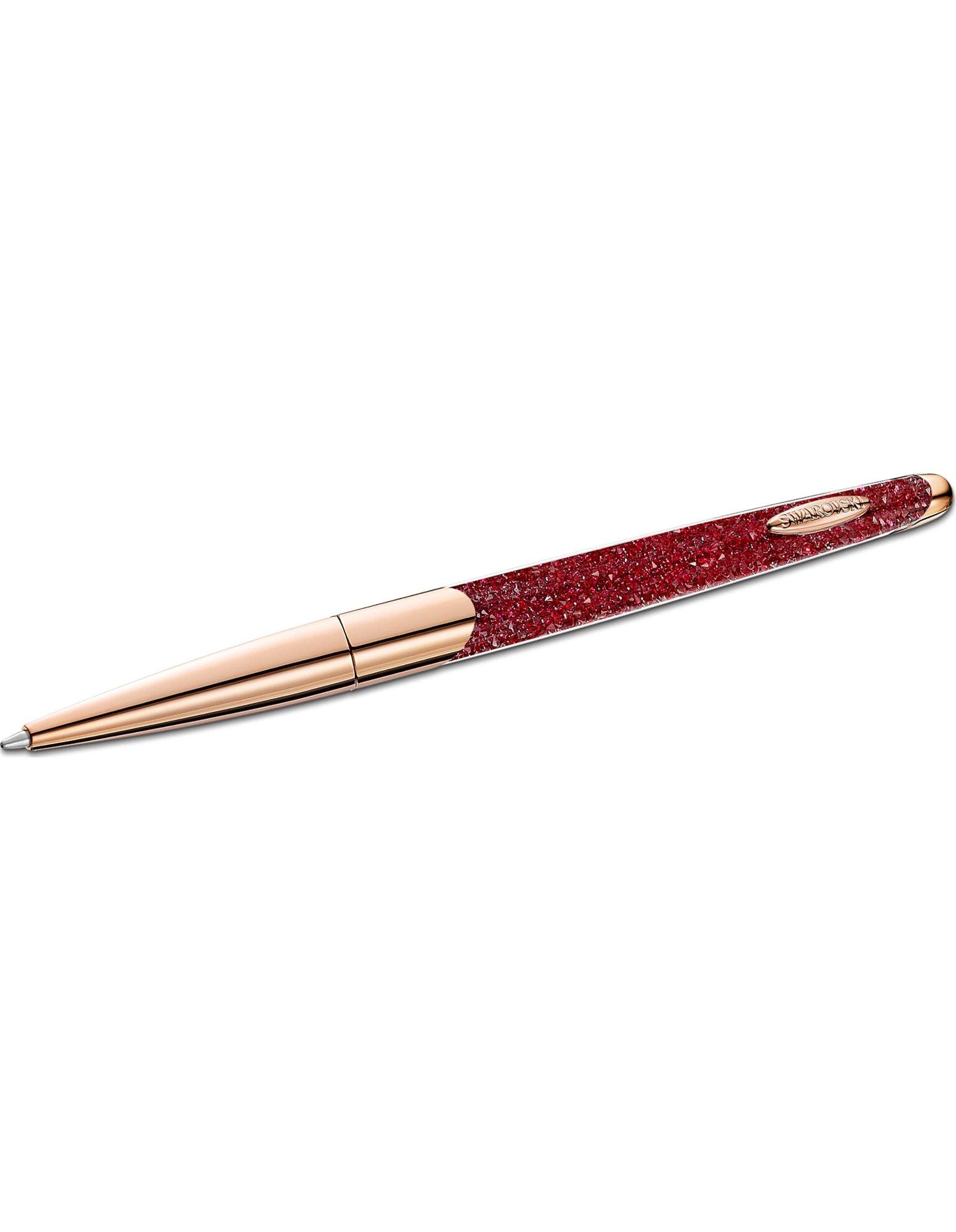 Picture of Crystalline Nova Tükenmez Kalem, Kırmızı, Pembe altın rengi kaplama