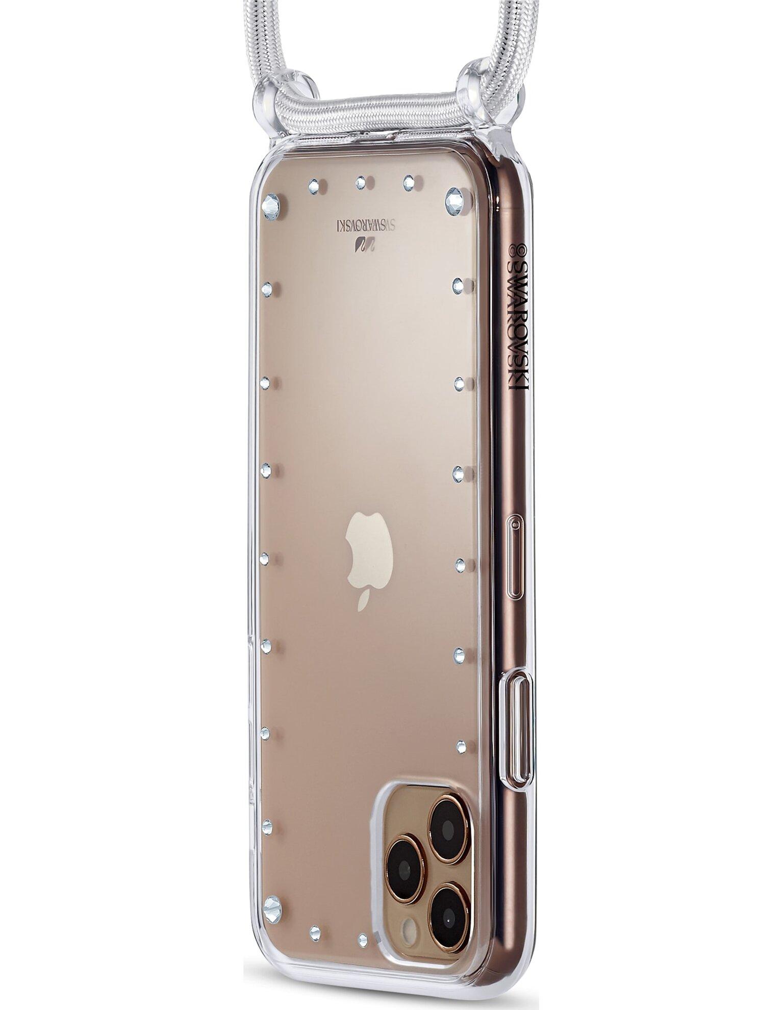 Picture of Swarovski Tamponlu akıllı telefon kolye kılıfı, iPhone® 11 Pro, Beyaz