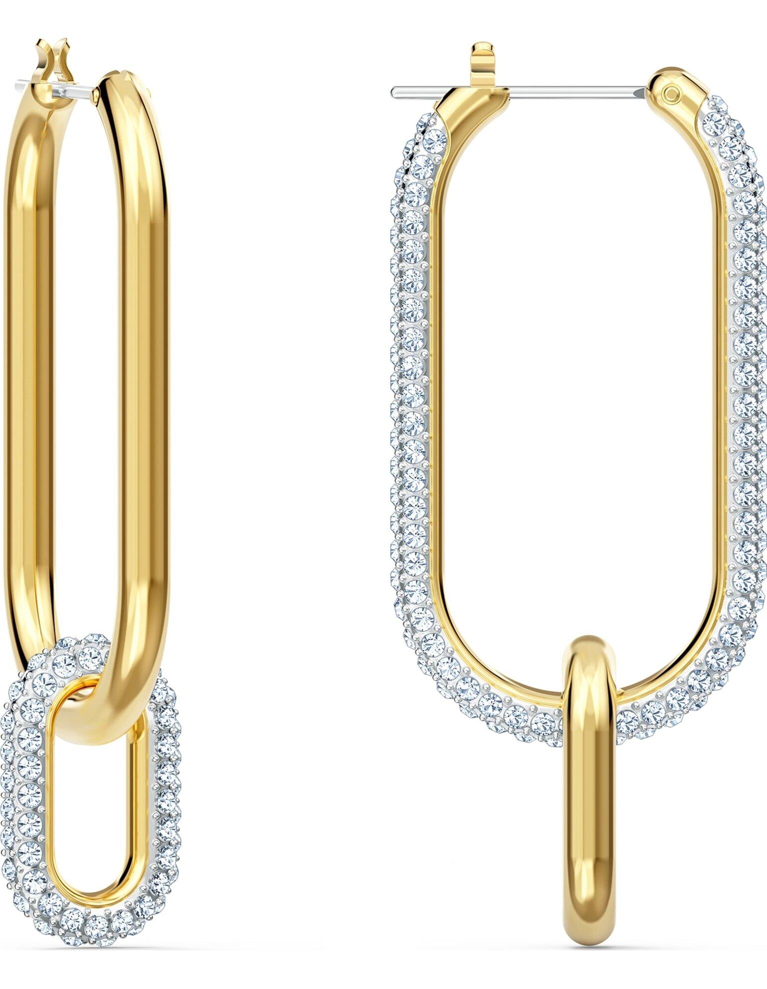 Picture of Time Halka Küpeler, Beyaz, Karışık metal