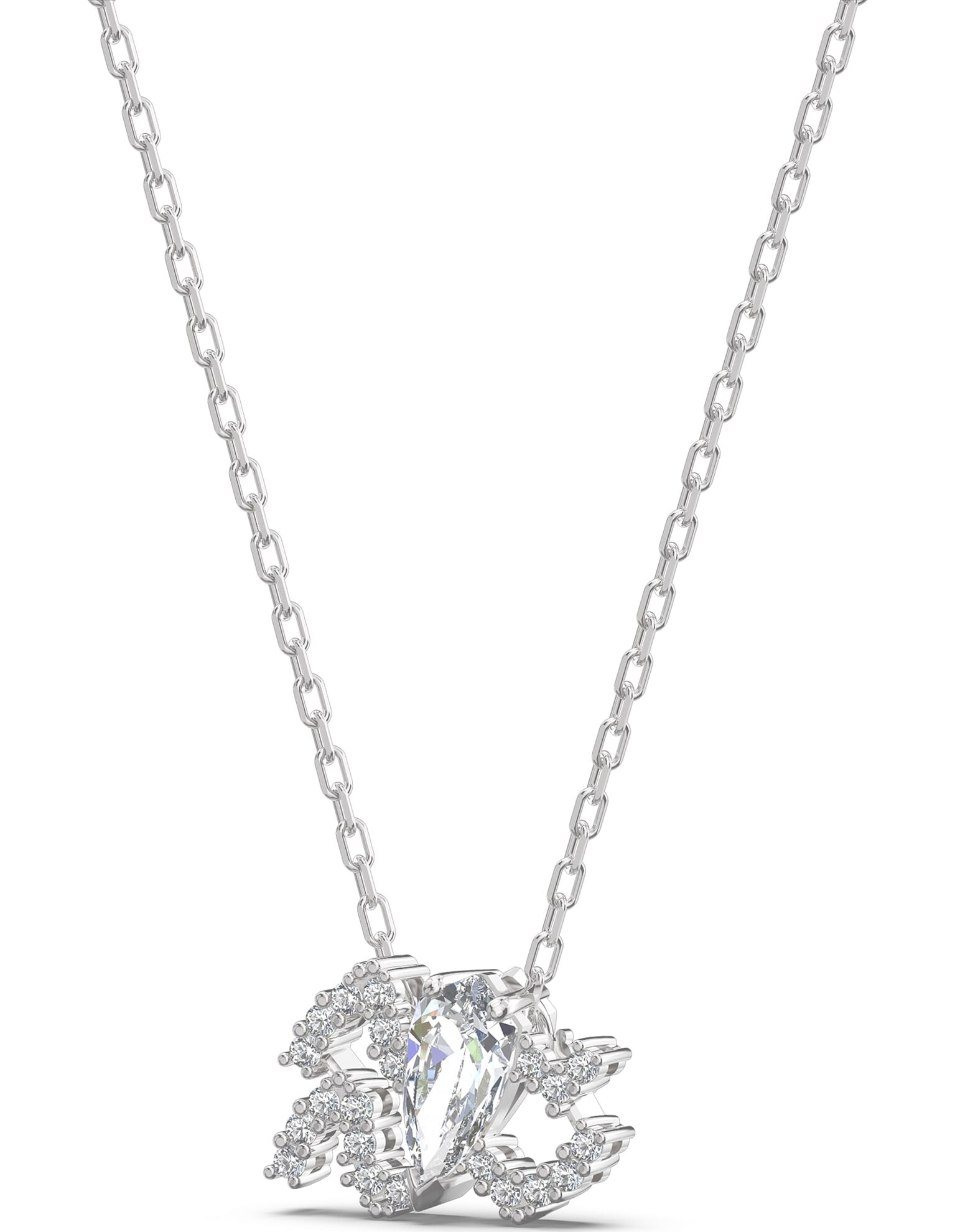 Picture of Zodiac II kolye, Kova, Beyaz, Karışık metal
