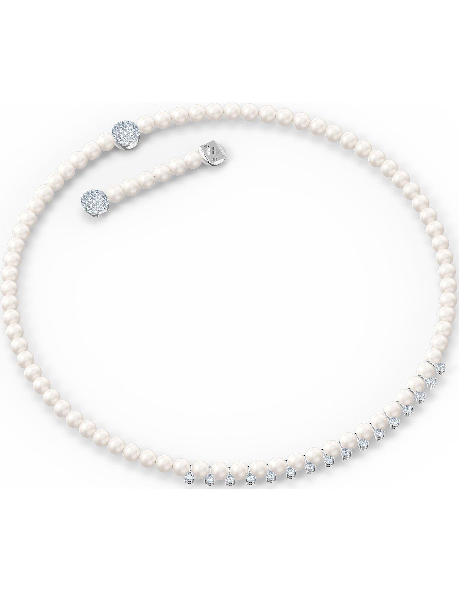 Picture of Treasure Pearls Kolye, Beyaz, Rodyum kaplama