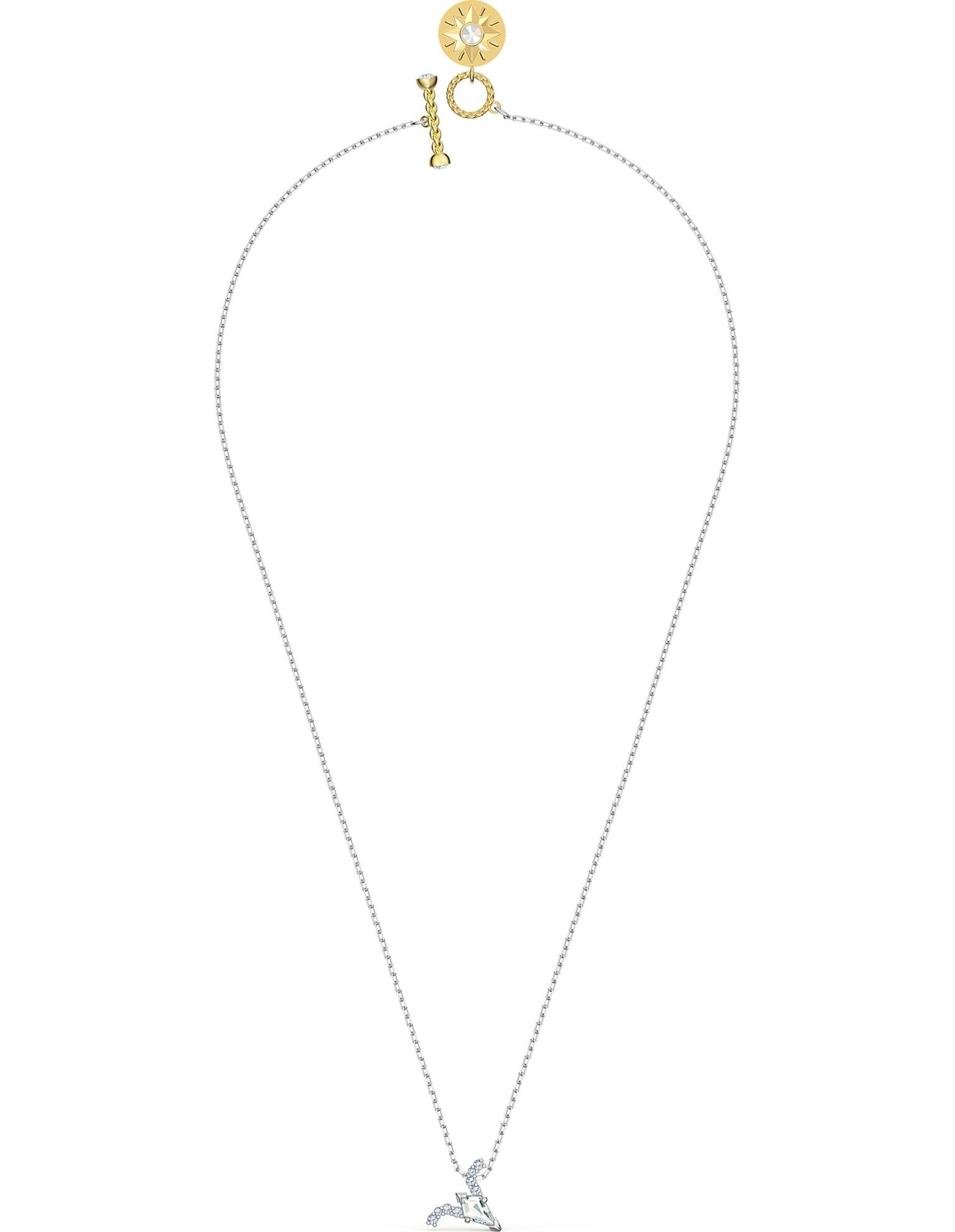 Picture of Zodiac II kolye, Koç, Beyaz, Karışık metal