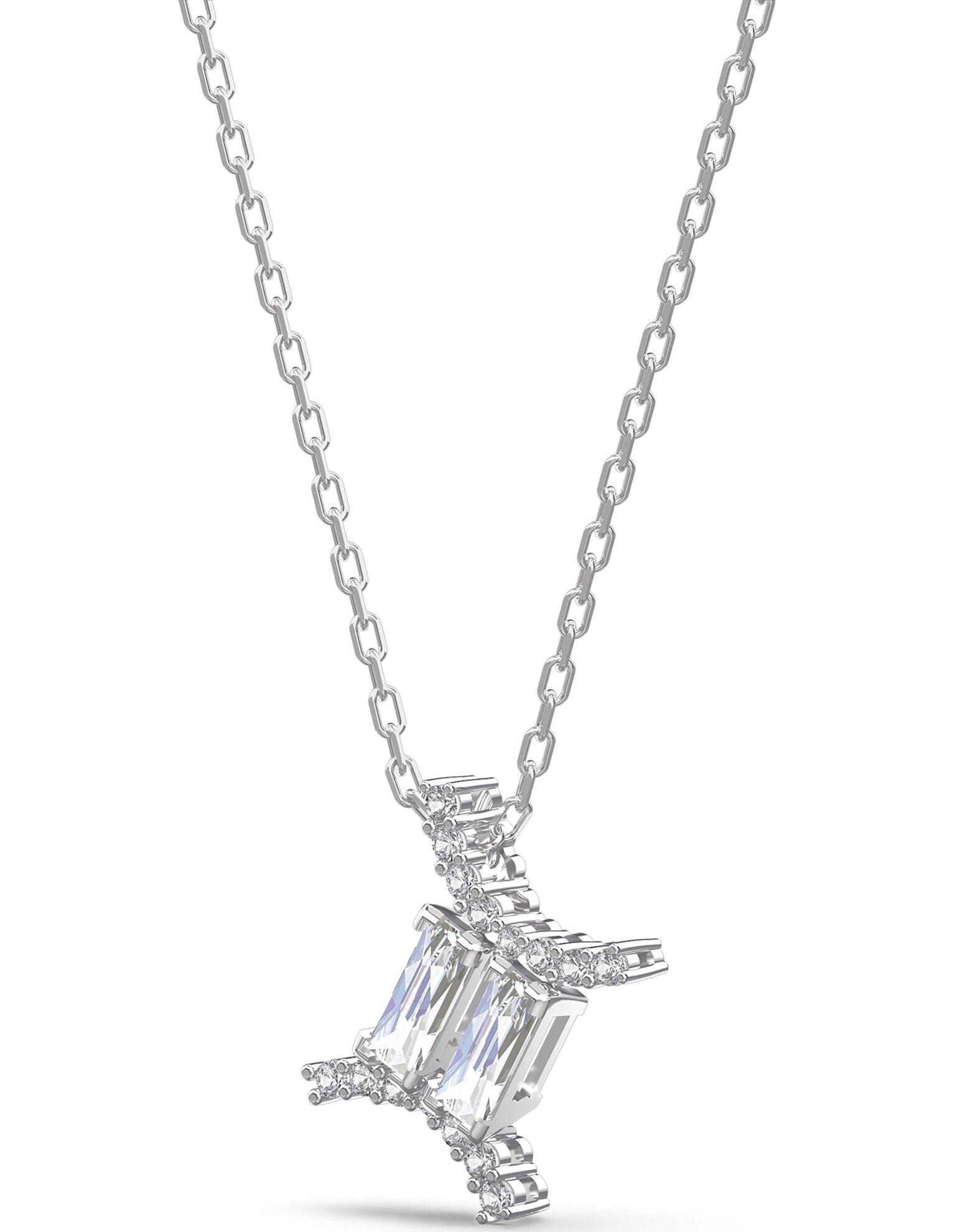 Picture of Zodiac II kolye, İkizler, Beyaz, Karışık metal
