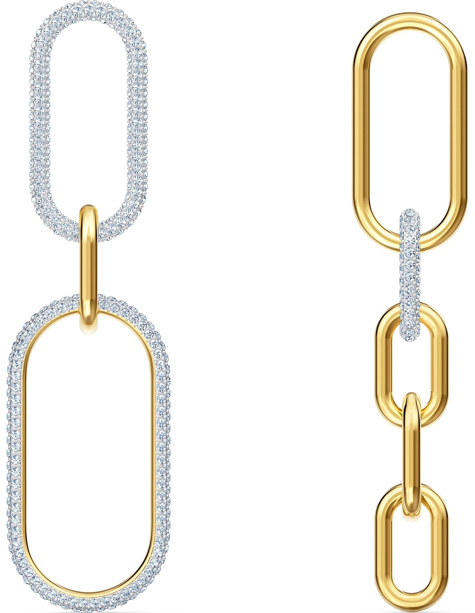 Picture of Time İğneli Küpeler, Beyaz, Karışık metal
