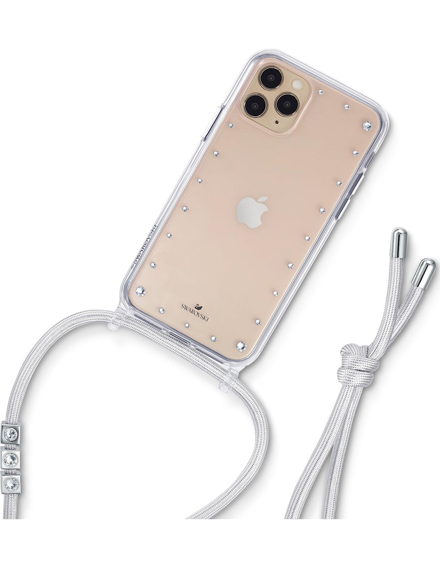 Picture of Swarovski Tamponlu akıllı telefon kolye kılıfı, iPhone® 11 Pro Max, Beyaz