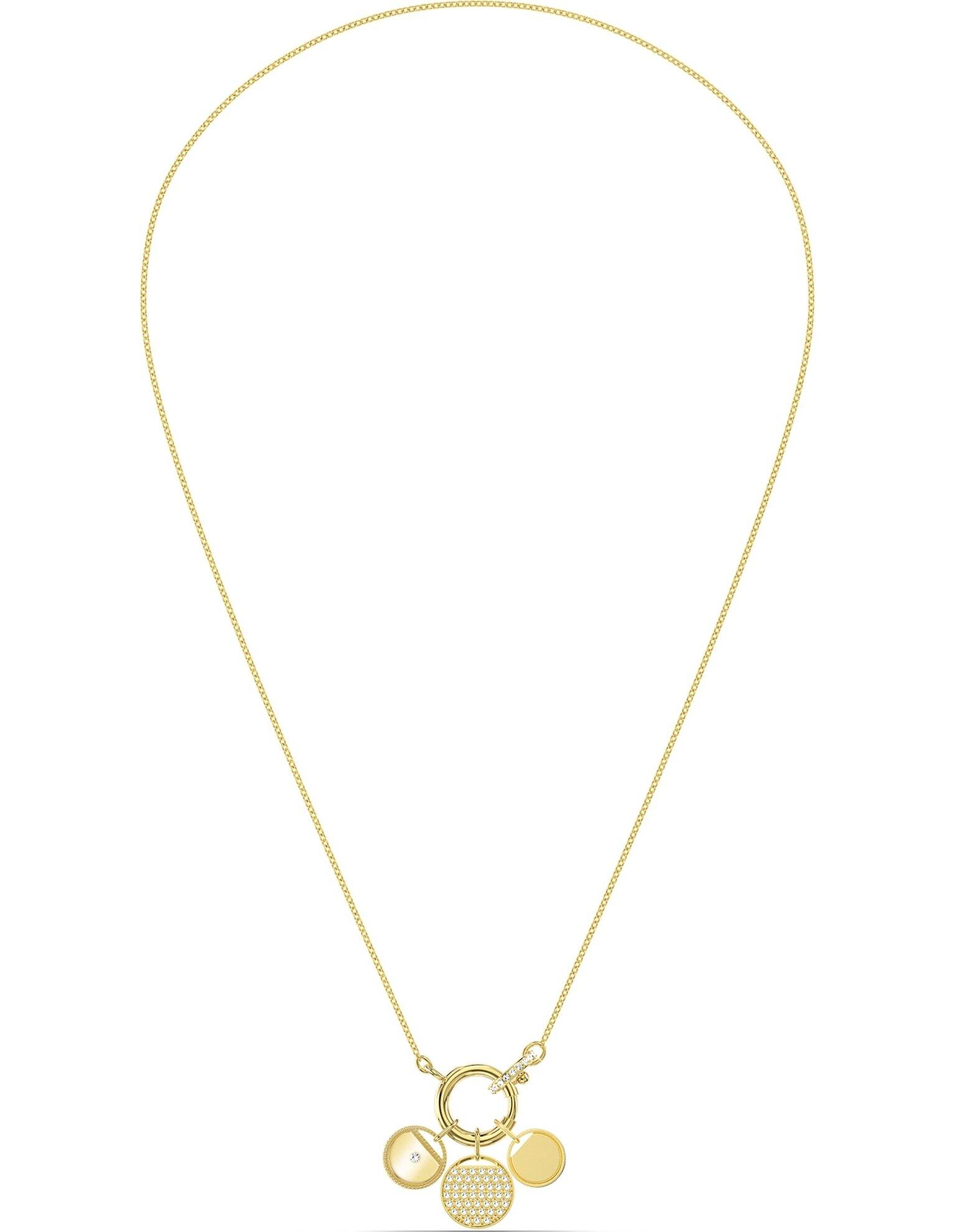Picture of Ginger Charm Kolye, Beyaz, Altın rengi kaplama