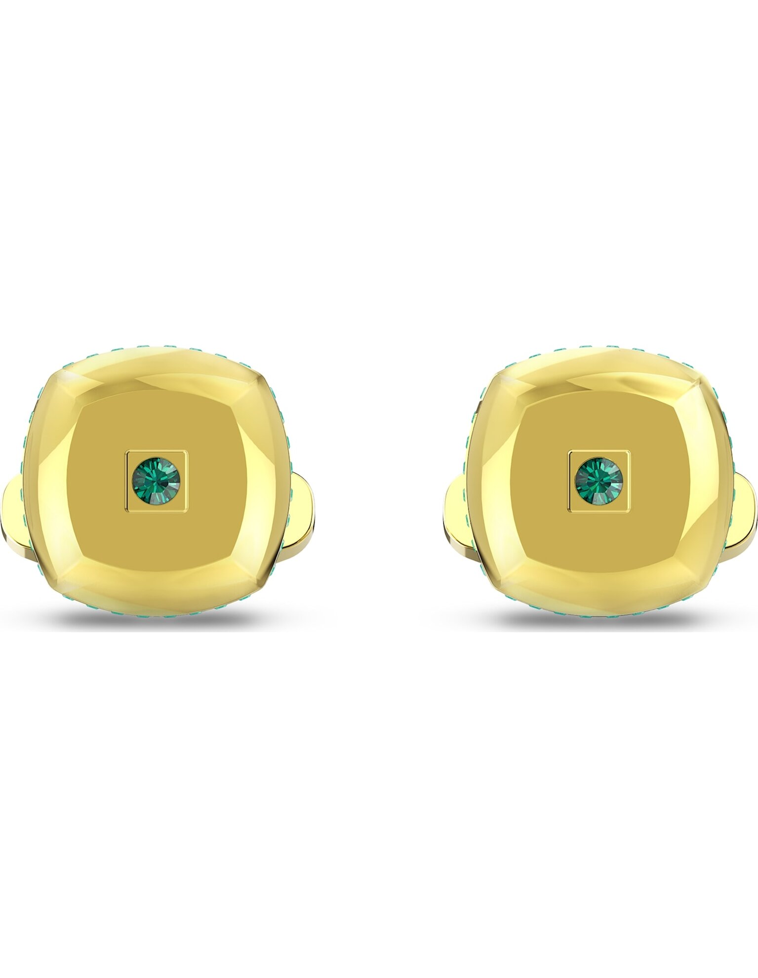 Picture of Theo Earth Element Kol Düğmesi, Yeşil, Altın rengi kaplama