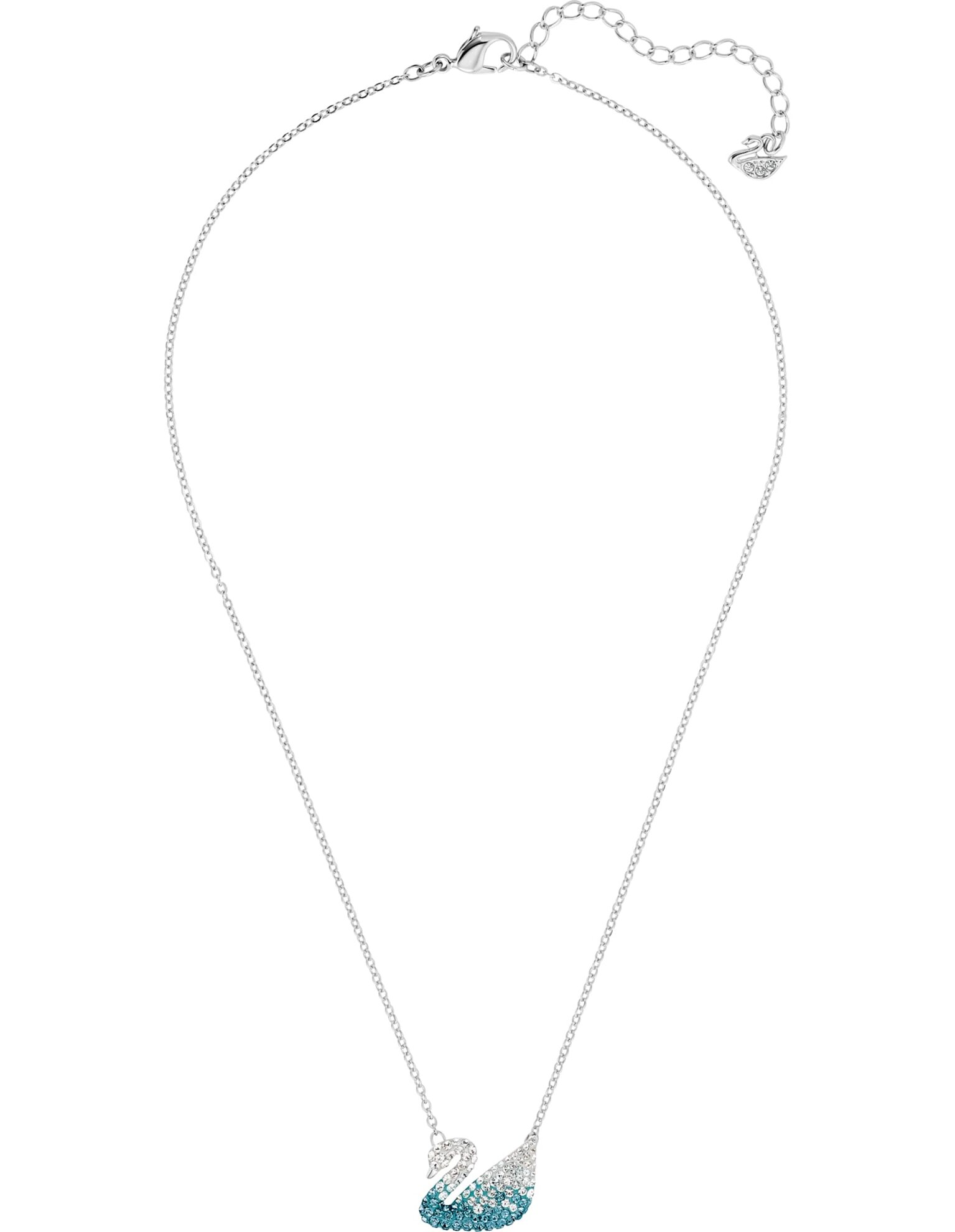 Picture of Swarovski Iconic Swan kolye, Cok Renkli, Rodyum kaplama