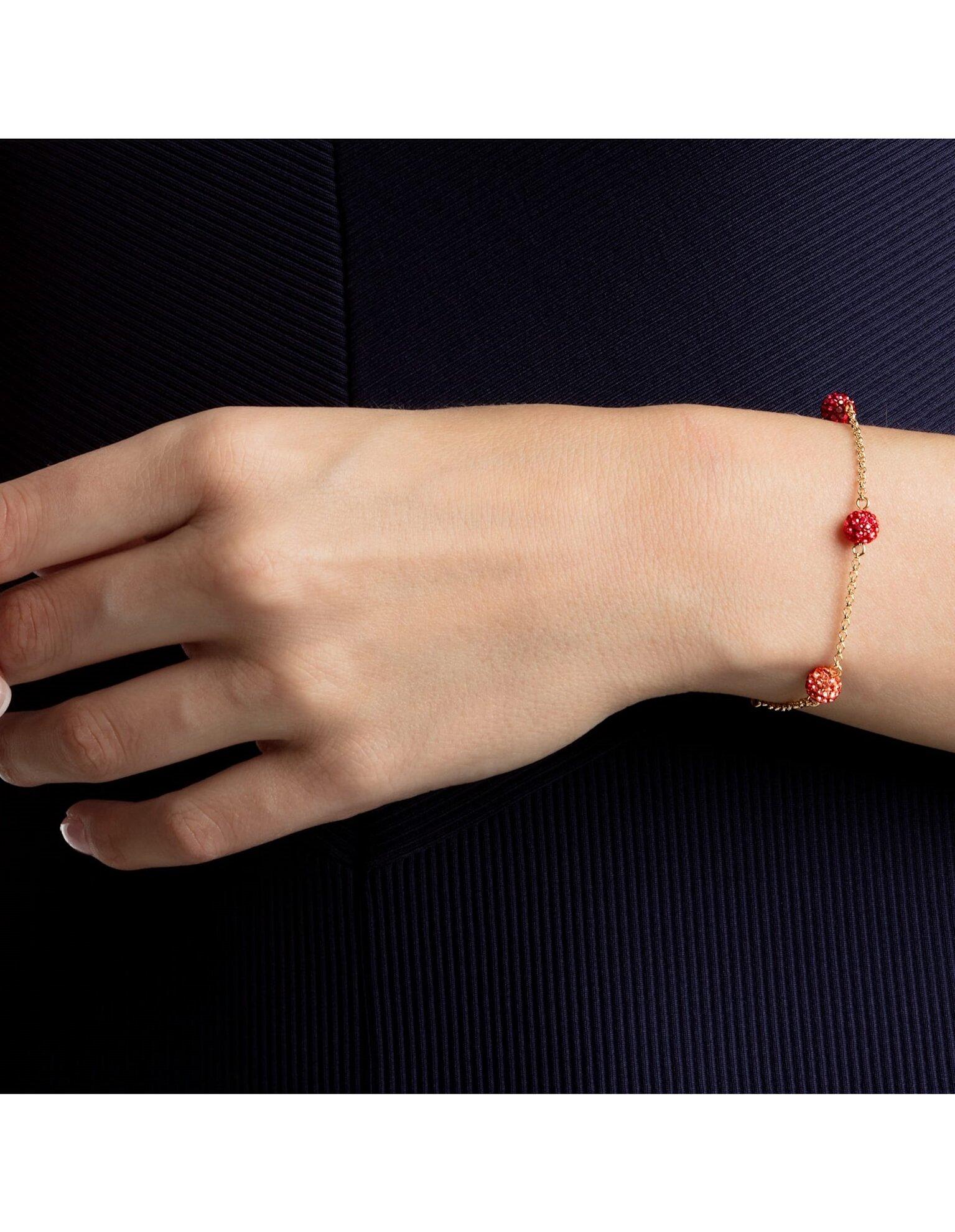 Picture of Swarovski Remix Collection Pop Strand, Cok Renkli, Altın rengi kaplama