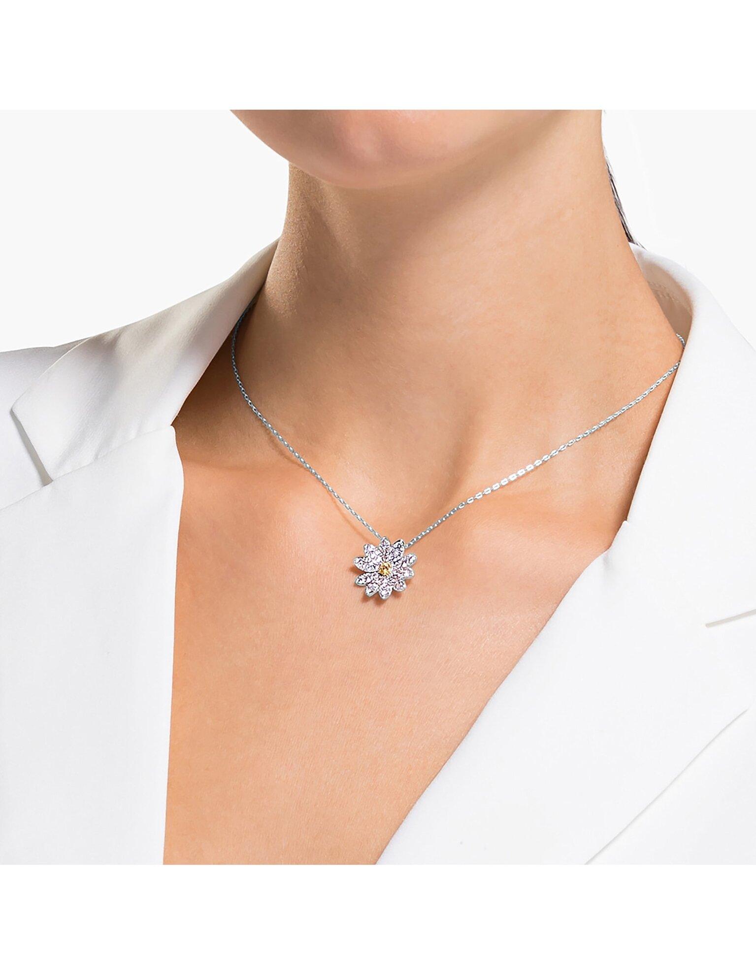 Picture of Eternal Flower kolye, Sarı, Karışık metal