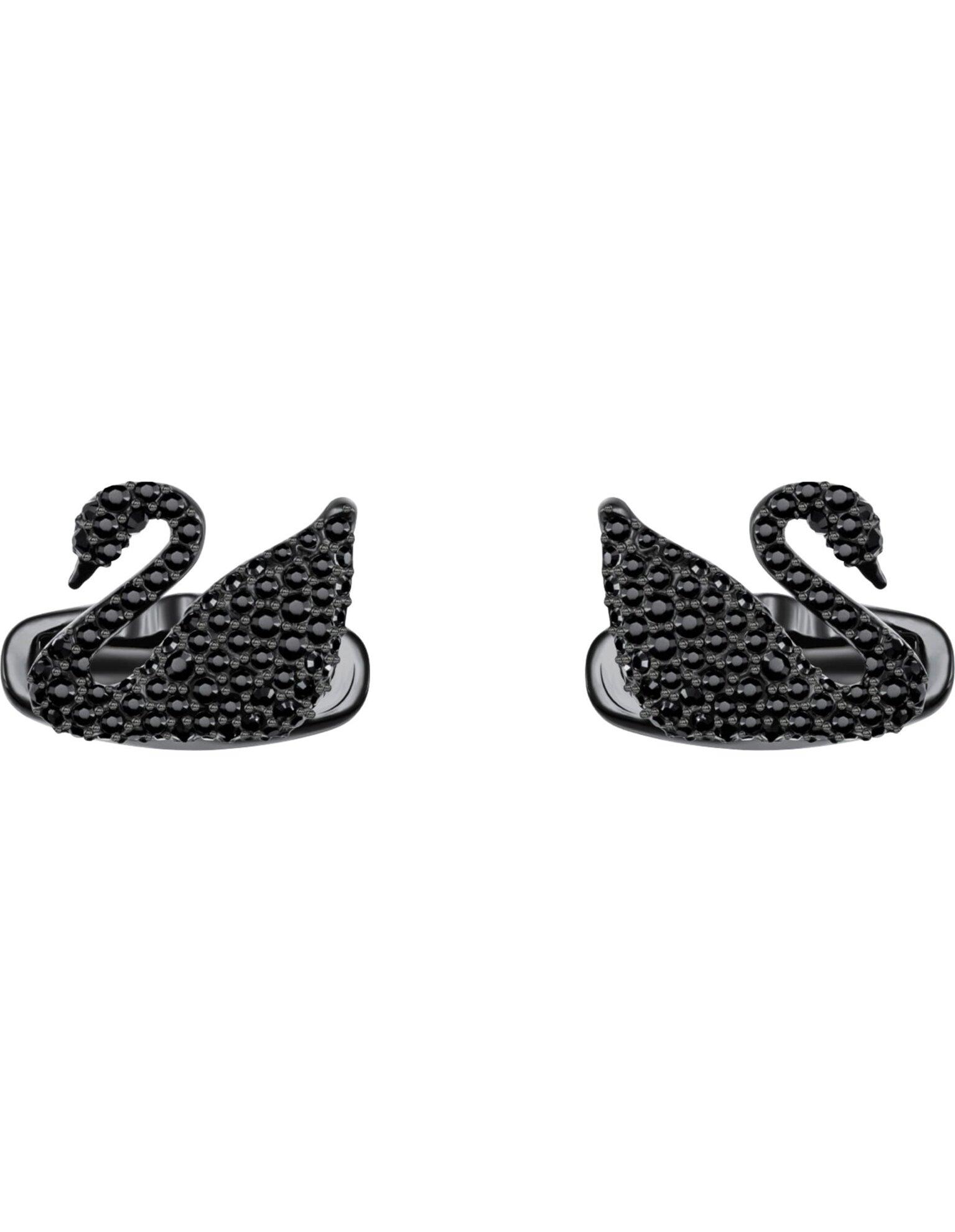Picture of Swan Kol Düğmesi, Siyah, Siyah PVD