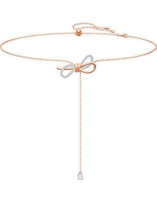 Picture of Lifelong Bow Y-Kolye, Beyaz, Karışık metal