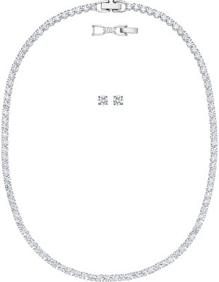Picture of Tennis Deluxe Set, Beyaz, Rodyum kaplama